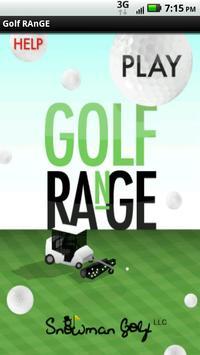 Golf RAnGE poster