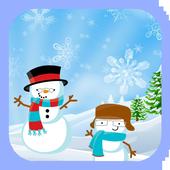 Candy Pop Snowman icon