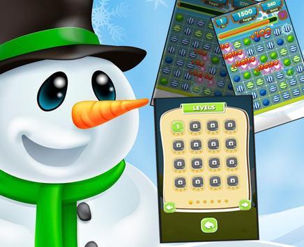Candy Pop Snowman apk screenshot