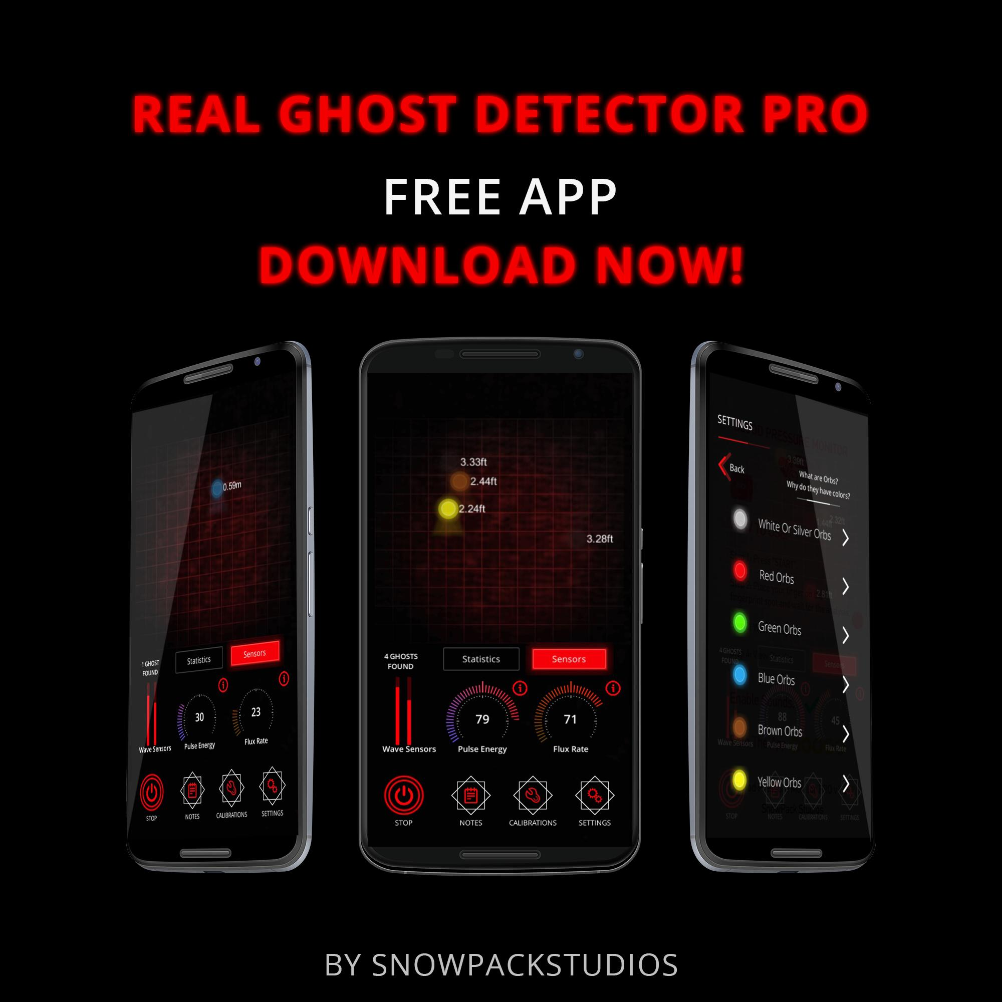 Real Ghost Detector PRO for Android - APK Download