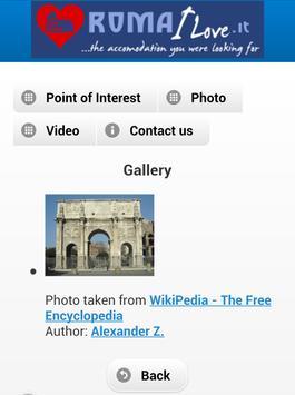 Rome I Love.it apk screenshot