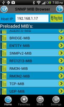 SNMP MIB Browser 1.1 poster