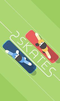 2 Skates poster