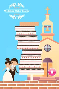 Wedding Cake tower poster