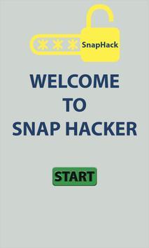 snaphack password Hacker prank poster
