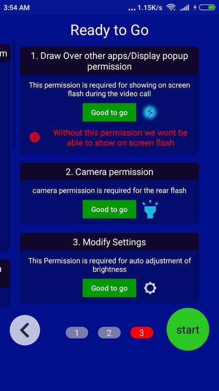 2 flash apk video call
