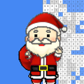 Christmas Color By Number Coloring Santa Paint Pix