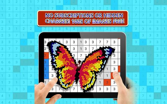 Coloring Unicorn Book Sandbox Color By Number Page for Android - APK ...