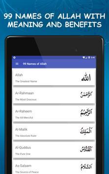 99 Names of Allah Asma ul Husna with Meanings screenshot 10