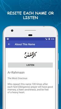 99 Names of Allah Asma ul Husna with Meanings screenshot 1