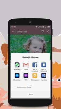 Baby Care - Parenting Tips apk screenshot