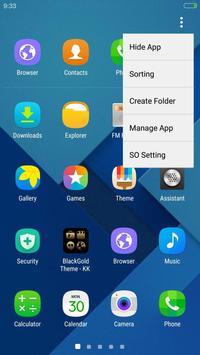 SO Launcher(Galaxy S7 launcher apk screenshot