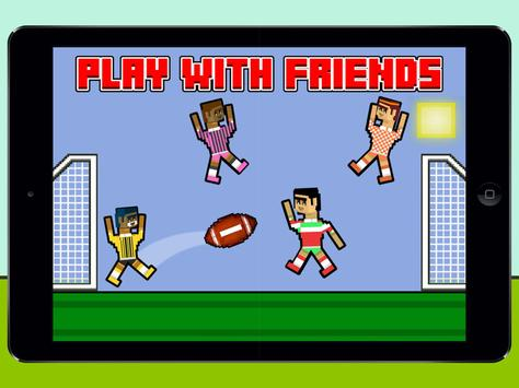 2018 Soccer Physics 2 Player Ragdoll Funny Games Screenshot 5