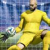 サッカー選手:ゴールキーパーの試合 アイコン