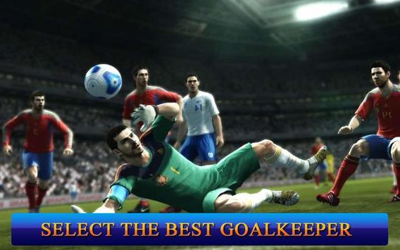 Jugadores de fútbol: Portero Poster