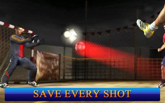 Jugadores de fútbol: Portero captura de pantalla 1