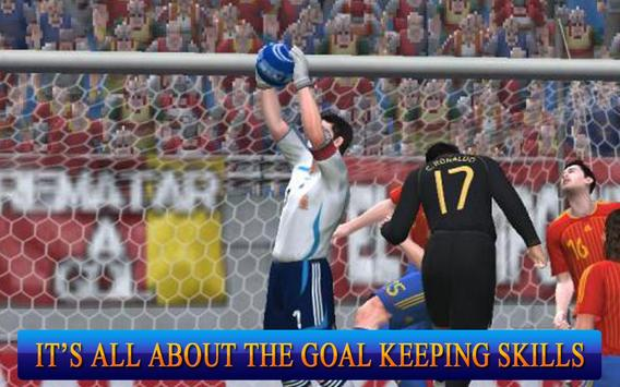 Jugadores de fútbol: Portero captura de pantalla 2