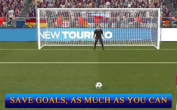 Jugadores de fútbol: Portero captura de pantalla 3
