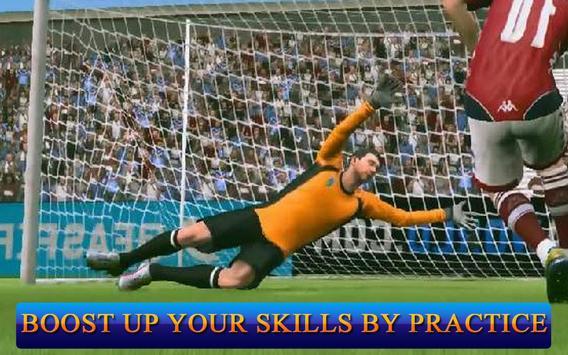 Jugadores de fútbol: Portero captura de pantalla 9