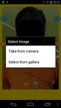 Real Football Player Japan screenshot 1