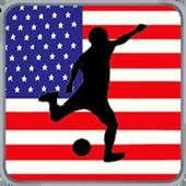 Real Soccer Player Usa icon