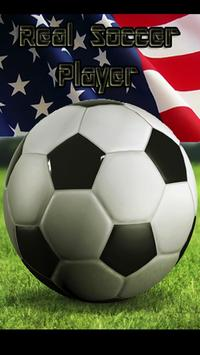 Real Soccer Player Usa poster