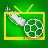 Football TV all goal highlight icon