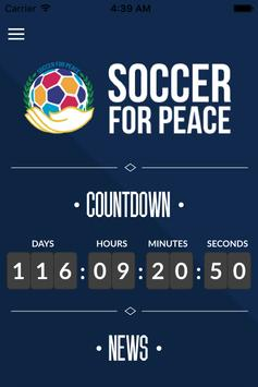 Soccer For Peace poster