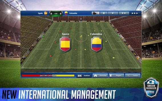 Soccer Manager 2018 скриншот 1