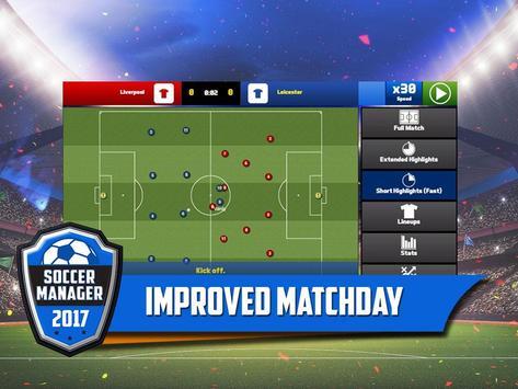 Soccer Manager 2017 स्क्रीनशॉट 8