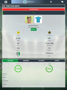 Soccer Manager Worlds screenshot 11