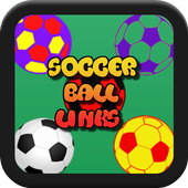 Soccer Ball Link Game for Kids icon