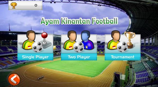 Ayam Kinantan Football screenshot 1