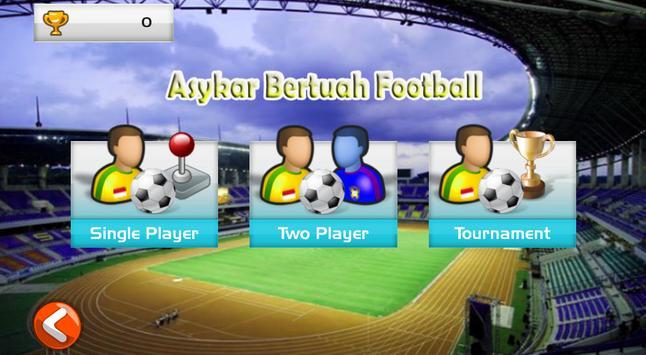 Asykar Bertuah Football screenshot 2