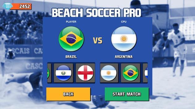 Beach Soccer Pro screenshot 4