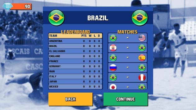 Beach Soccer Pro screenshot 12