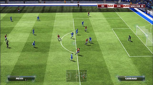 Dream Soccer Games Football League - Dream 2018 screenshot 2