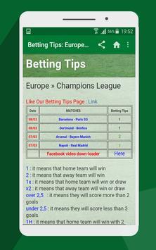 Soccer Predictions apk screenshot