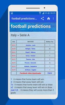 betting tips apk screenshot