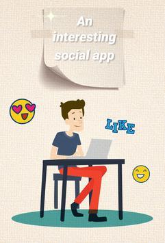 Social App BlingBling poster