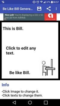 Be like Bill Generator poster