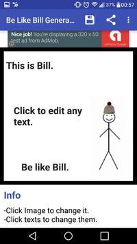 Be like Bill Generator apk screenshot