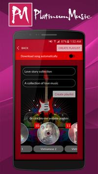 Platinum Music apk screenshot