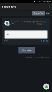 Social Space screenshot 1