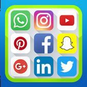 networks social media icon