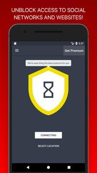 Social Network VPN: Free VPN for Unblock Websites poster