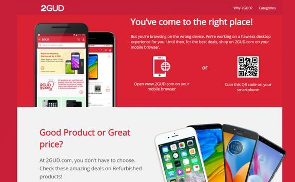 Shop 2GUD.COM- TooGood Refurbished Products poster