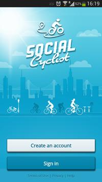 Social Cyclist poster