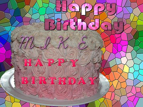 Name On Birthday Cake 2017 apk screenshot