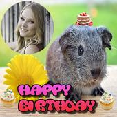 Happy Birthday Animal Frames icon